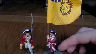 Download Video Toy Soldier Review: William Britain British 80th Foot Flag Bearer American War of Independance MP3 3GP MP4