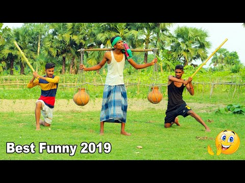 Indian New Funny Video😄-😅Hindi Comedy Videos 2019-Episode-27--Indian Fun || ME Tv