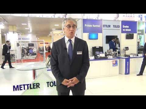 Mettler Toledo TR – Temel Şefkatli - Turkchem Chem Show Eurasia 2016 Röportajı