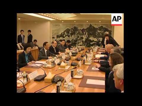 US Treasury Sec visits China, meets Hu Jintao