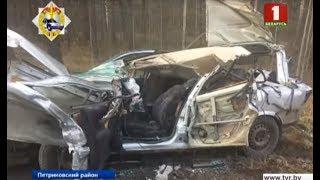 Страшная авария в Петриковском районе