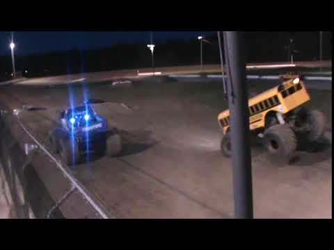 All American Monster Truck Tour - Overkill Evolution vs Higher Education (Racing)