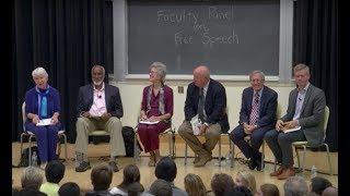 UC Berkeley Faculty Panel on Free Speech