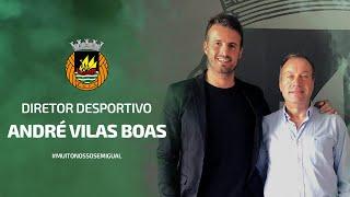 André Vilas Boas é o Diretor Desportivo