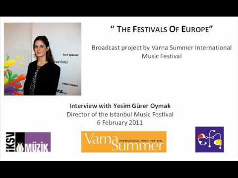 Varna Broadcast Interview - Istanbul International Music Festival