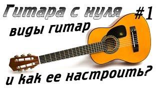 #1 Гитара с нуля. Как настроить гитару?