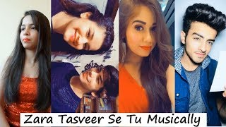 Zara Tasveer Se Tu Nikal Ke Samne Aa Musically | Avneet Kaur, Jannat Zubair, Siddharth Nigam