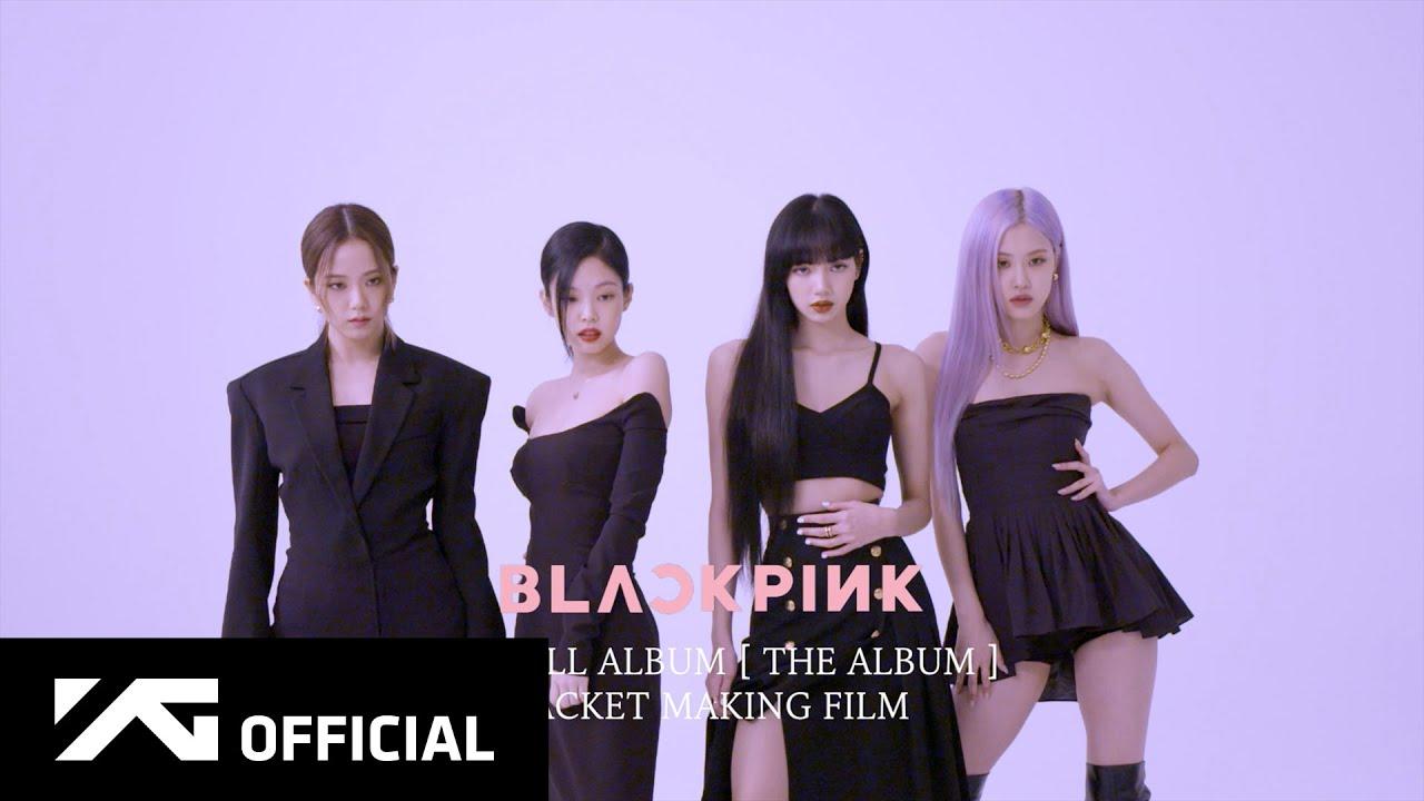 BLACKPINK - 'THE ALBUM' JACKET MAKING FILM