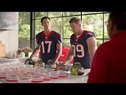 Brock Osweiler and JJ Watt New HEB Commercials 2016