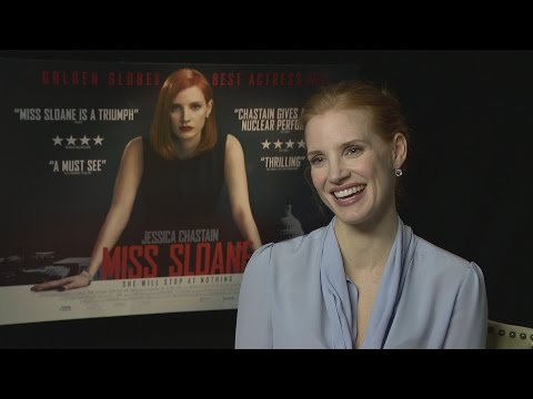Miss Sloane: Jessica Chastain reveals her acting secrets