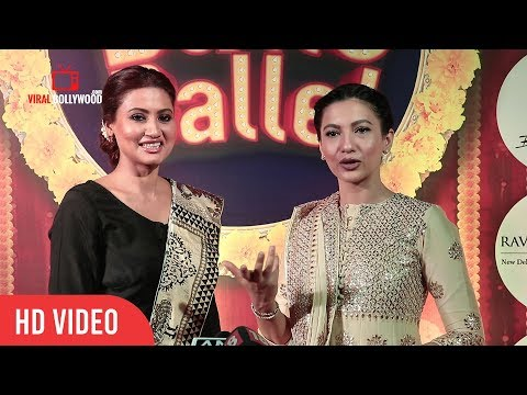 Bigg Boss X Contestant Gauhar Khan With Sister Nigaar Khan At Wizcraft's Musical 'Balle Balle'