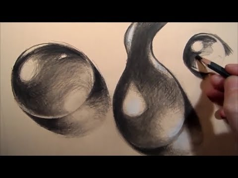 Drawing Water Drops Step By Step Youtube