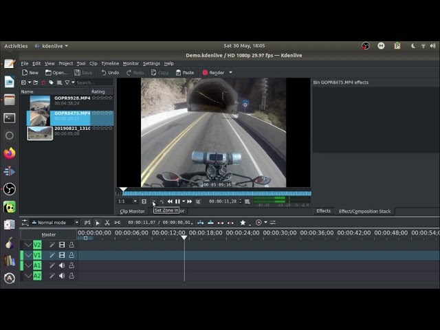 Getting Started Video Editing with KDEnlive Free Video Editor. Part 1.
