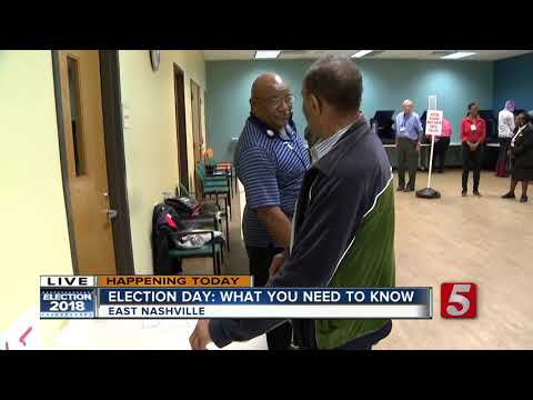 Election Day: Polls now open in Davidson County