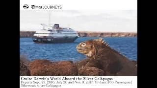 Cruise Darwin's World Aboard the Silver Galapagos Webinar thumbnail