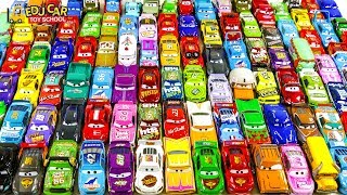 Special Disney Cars Lightning McQueen box fo toy 100 car Play for kids car toys