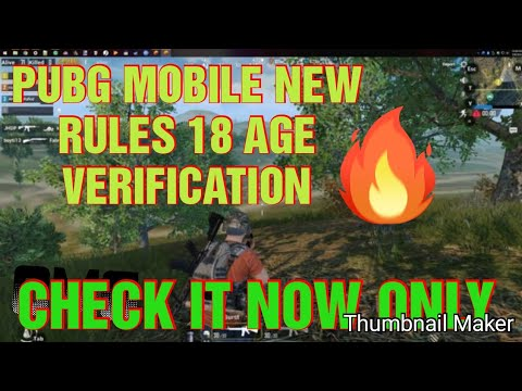 Pubg mobile new rules for PUBG PLAYER