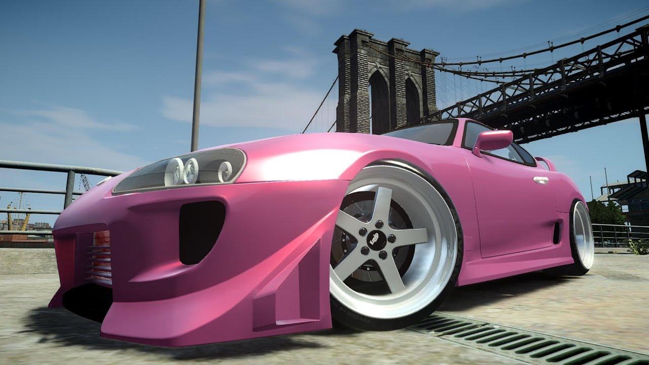 Gta 5 Toyota Supra >> GTA IV Toyota Supra Tuning Crash Testing - YouTube