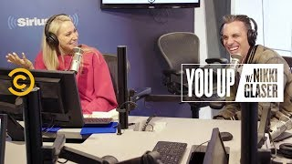 The Awkwardness of a Naked Spray Tan Session (feat. Sebastian Maniscalco) - You Up w/ Nikki Glaser