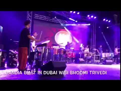 GARBA BLAST At DUBAI MILIND WANKHEDE & BAND ,BHOOMI TRIVEDI