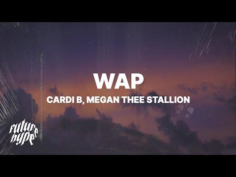 Cardi B Wap Lyrics Ft Megan Thee Stallion Youtube