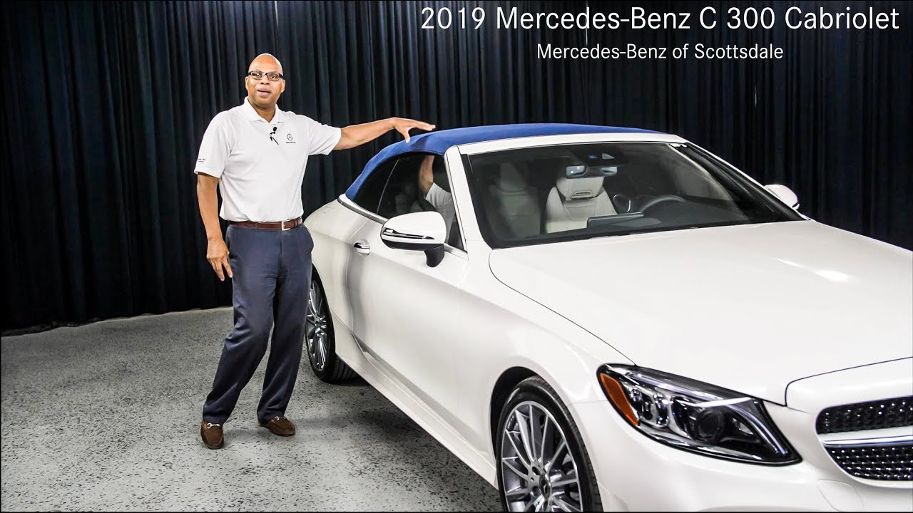 New Features 2019 Mercedes Benz C300 Cabriolet Review From Of Scottsdale