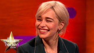 Download Brad Pitt Bid $120k For A Night With Emilia Clarke!  | The Graham Norton Show Mp3 and Videos