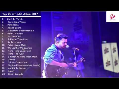 Atif Aslam Latest Songs 2017   Top & Best Songs of Atif Aslam Jukebox