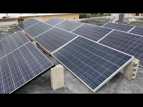 My Solar Panel array