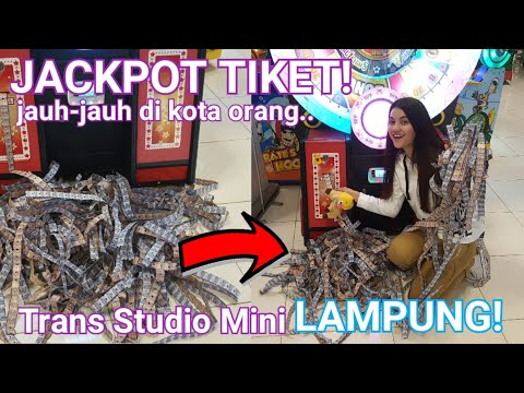 JACKPOT!! JAUH-JAUH DI KOTA ORANG!! TRANS STUDIO MINI LAMPUNG!! TOUR KELILING INDONESIA