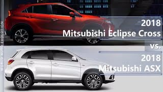 2018 Mitsubishi Eclipse Cross vs 2018 Mitsubishi ASX / Outlander Sport (technical comparison)