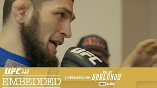 UFC 223 Embedded: Vlog Series - Episode 3