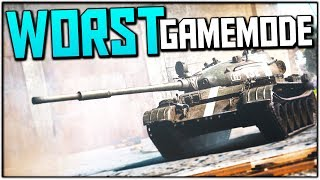 WORST GAME MODE (War Thunder Tank Gameplay)