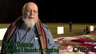 Guinness World Record:The World's Biggest Knit/Crochet Stocking Reveal