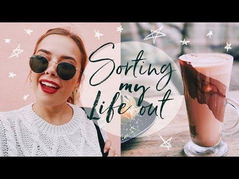 ORGANISING MY LIFE | Hello October Vlogtober Day 5 + 6