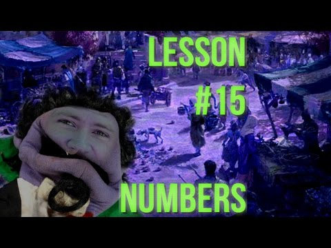 Lesson #15 - Numbers