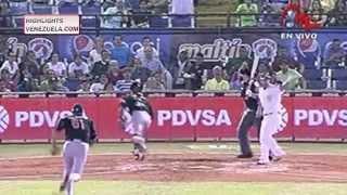 Highlights Jornada 12/01 LVBP. Águilas del Zulia vs Navegantes del Magallanes