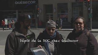 Dépôt de la DUC chez Québecor