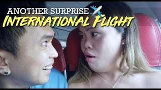 (PART 1) SURPRISE! INTERNATIONAL FLIGHT with Baby Girl!