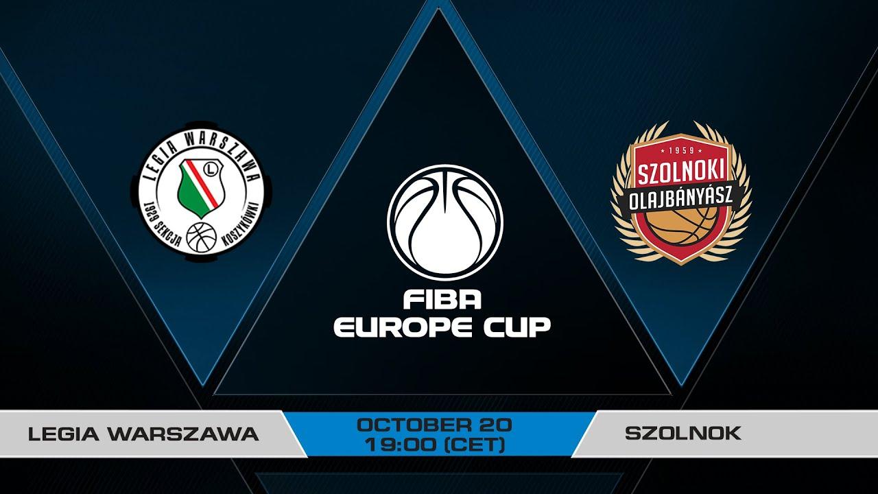 LIVE - Legia Warszawa v Szolnok | FIBA Europe Cup 2021-22
