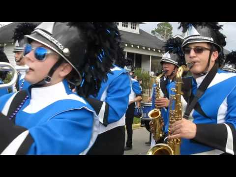 Mandeville High School Band Mardi Gras 2016