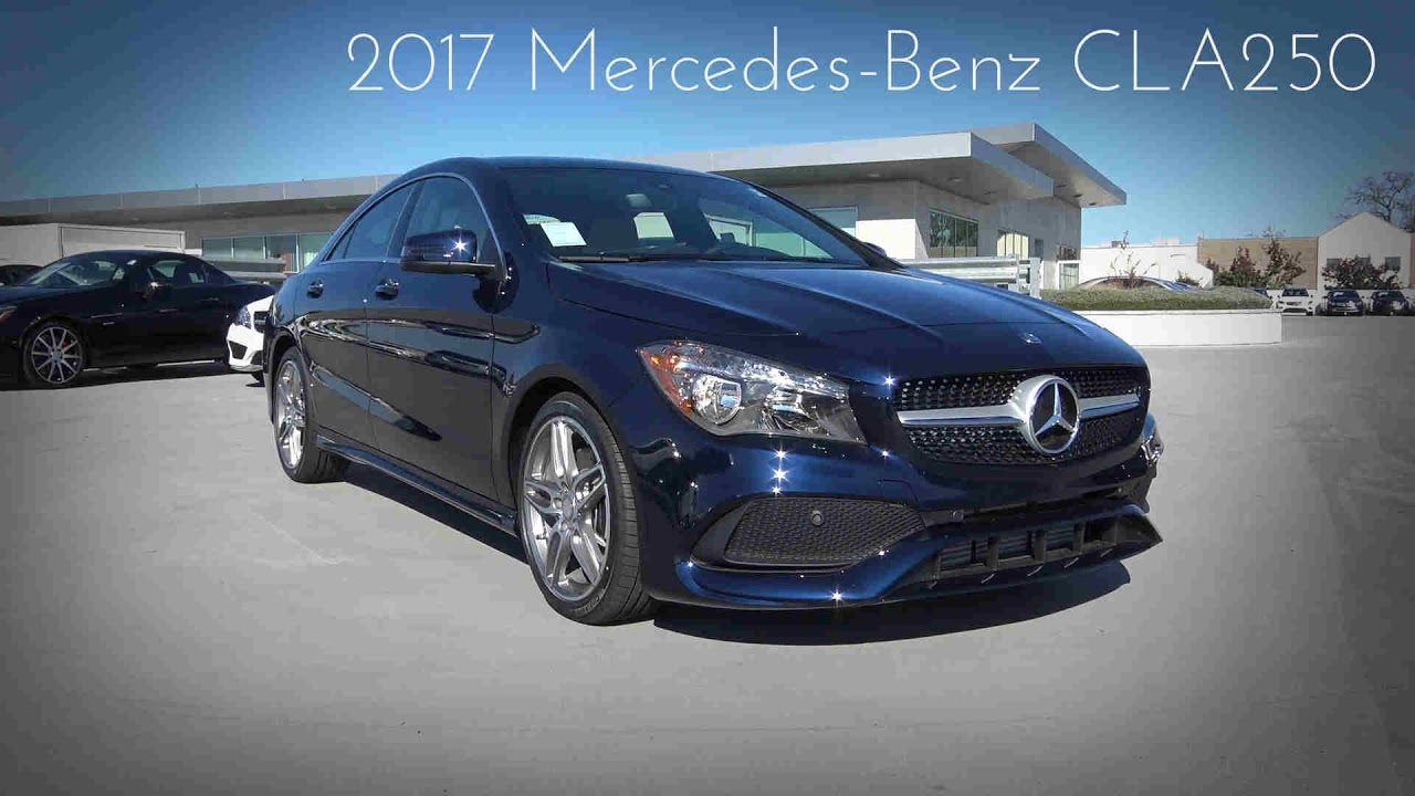 2017 mercedes benz cla250 2 0 l turbocharged 4 cylinder for Mercedes benz of arrowhead reviews