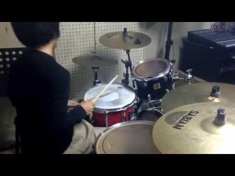aiko  こんぺいとう  叩いてみた。(drum cover)