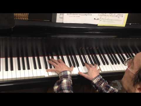 My Ship - solo piano demonstration - Richard Shulman