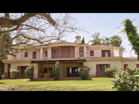 Beautiful riverside property for sale on Paseo del Parque - Sotogrande Costa