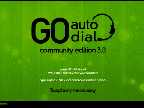 Go Auto Dialler Complete Installation and Configuration Tutorial
