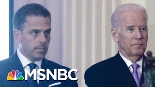 Biden Campaign: Hunter Biden 'Showed That He's Not Going To Be Bullied By' Trump | MTP Daily | MSNBC