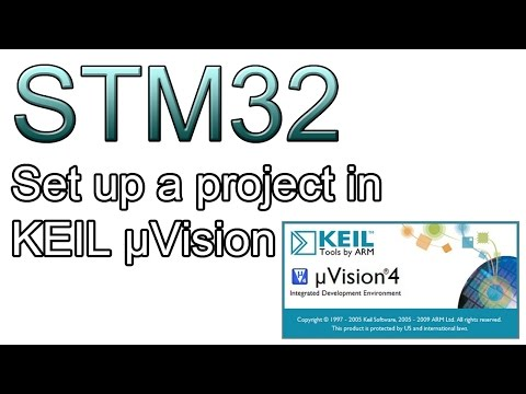 STM32 tutorial part.1 - Set up a project in KEIL μVision