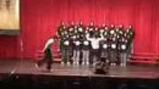 台灣東華大學合唱表演 爸我回来了 搞笑版