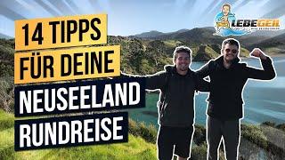3 Wochen NEUSEELAND Rundreise |14 Tipps für die geilste Reise deines Lebens!